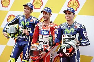 MotoGP Отчет о квалификации Довициозо удивил соперников, победив в дождевой квалификации