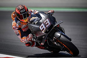 MotoGP Testing report Marquez beats Iannone to top Barcelona test