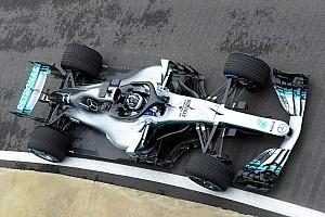 Первый выезд Mercedes W09 на трассу: видео