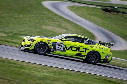 VIR PWC: VOLT Mustang conquers GTS SprintX race 1