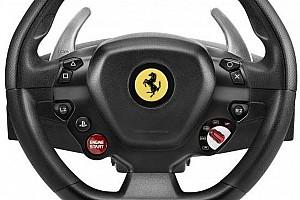 eSports Elemzés Ferrari-kormánnyal támadhatunk szimulátorozás közben