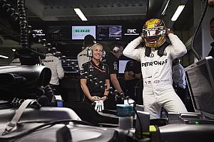 Formule 1 Réactions Hamilton admet que la première ligne n'était pas accessible