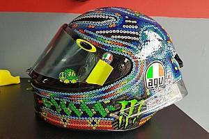 MotoGP Noticias de última hora Rossi se inspira en el arte Huichol para su nuevo casco de pretemporada