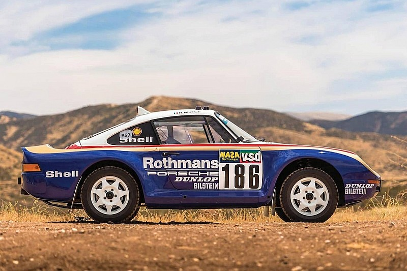 Porsche 959 для Париж-Дакар буде виставлено на аукціон