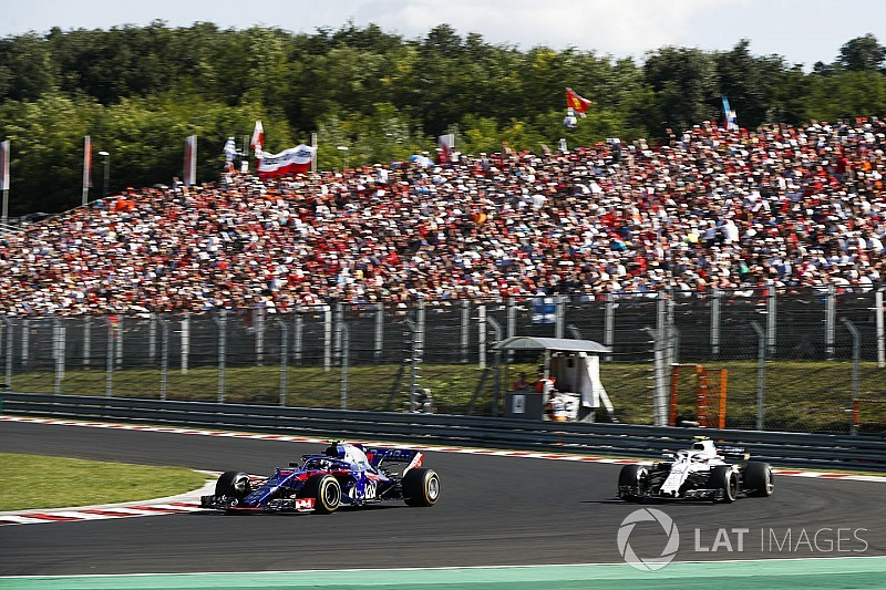 Gasly: Blue flags made me realise how well I was doing