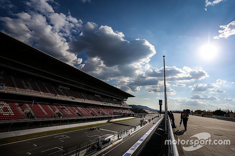 F1 Driver Line Up Barcelona Test 2