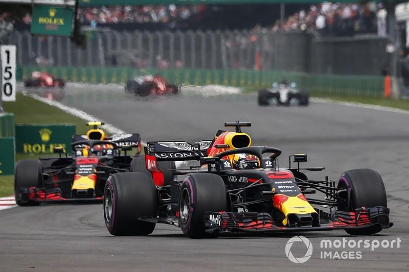 "Ricciardo noemt snelheid Red Bull in tweede seizoenshelft ""verwarrend"""