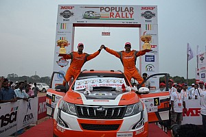 Popular Rally: Sixth INRC title for Gaurav Gill