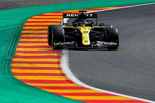 "Ricciardo says Renault F1 car ""happier"" in low-downforce trim"