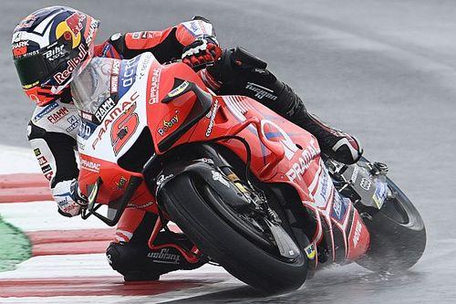 MotoGPサンマリノFP2:ウエットでザルコ躍動、大差のトップ。中上貴晶は大苦戦24番手