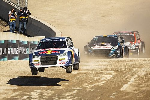 Spa victory lifts Kristoffersson into World Rallycross title fight