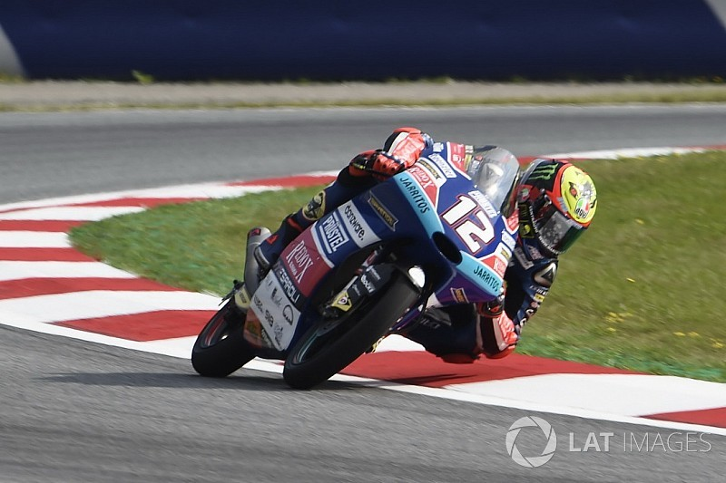 Moto3 Red Bull Ring: Bezzecchi pakt eerste pole in zinderende kwalificatie