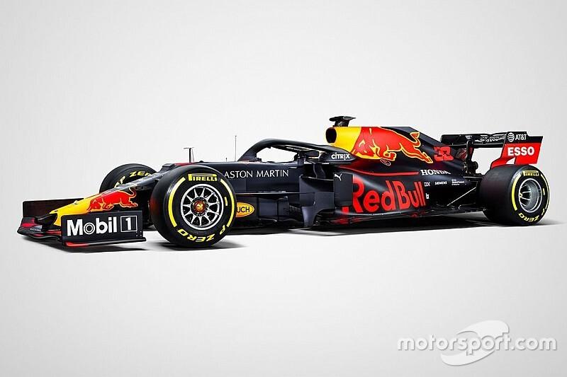 Red Bull desvela su decoración definitiva para la F1 2019