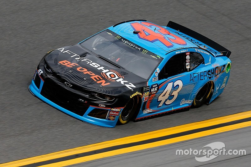 Bubba Wallace tops abbreviated second Daytona 500 practice