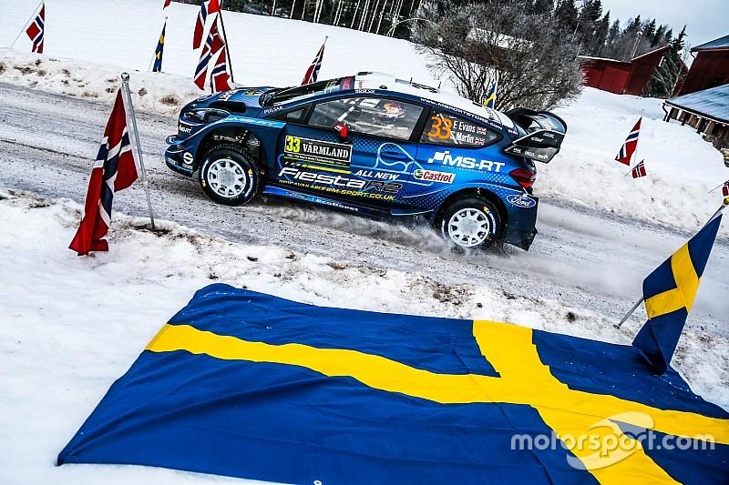 Les horaires de toutes les spéciales du Rallye de Suède