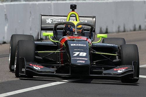 IMS Indy Lights: Malukas holds off Sowery in last-lap battle