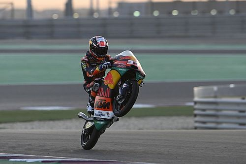 Moto3: Acosta leggendario, vince dalla pitlane a Doha!