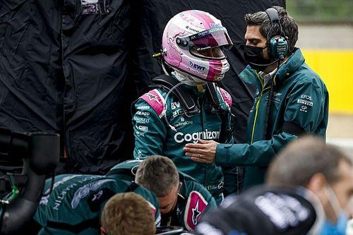 Vettel, sorunlu Imola yarışının ardından Stroll'ün puan almasından memnun