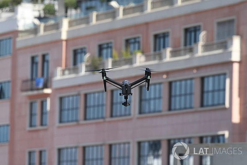 Distração por drone