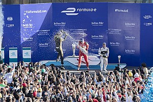 Fórmula E Crónica de Carrera Lucas di Grassi gana en México