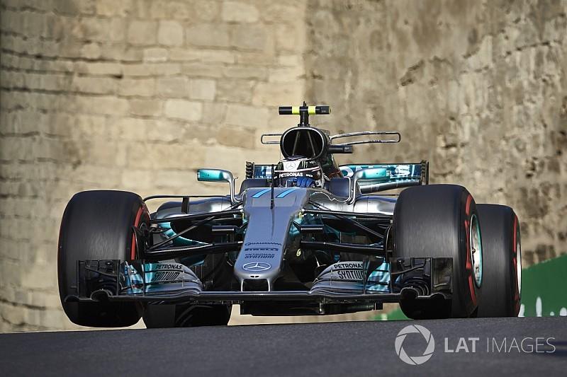 Гран Прі Азербайджану: Боттас виграв напружену третю практику