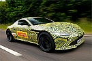 Формула 1 Ферстаппен протестував новий Aston Martin Vantage