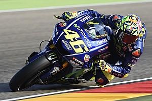MotoGP Reaktion MotoGP Aragon: Rossi stolz auf Platz 5 - Lob von Marquez und Co.