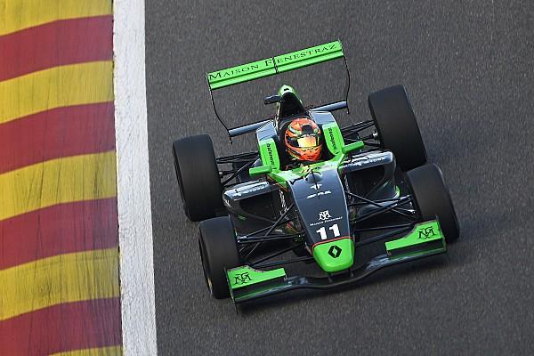 Formula Renault Gara Fenestraz ed Aubry si aggiudicano le tre gare di Spa-Francorchamps
