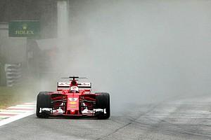 Formule 1 Réactions Les pilotes Ferrari douchés par le déluge en Q3
