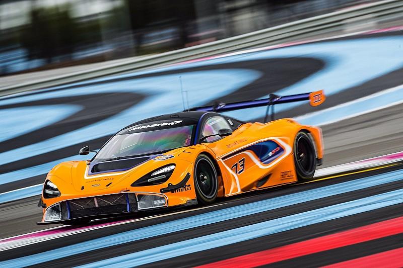 Новий McLaren 720S GT3 незабаром дебютує в гонках