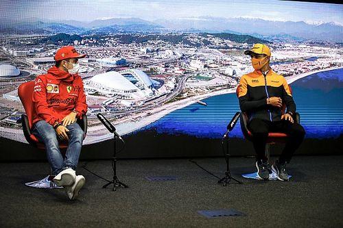 """لوكلير: """"مسألة وقت"""" قبل أن يحقق نوريس فوزه الأول في الفورمولا واحد"""
