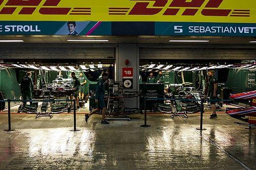 La F1 cancela la FP3 del GP de Rusia por la lluvia