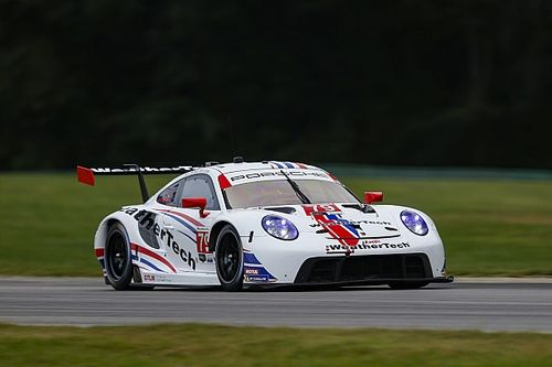 VIR IMSA: WeatherTech Porsche dominates first practice