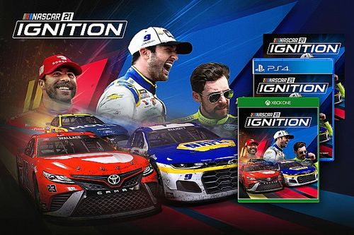 Has NASCAR 21: Ignition game bucked the Madden NFL cover curse?
