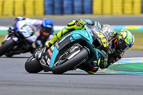 Rossi buoyed by MotoGP test gains at Le Mans