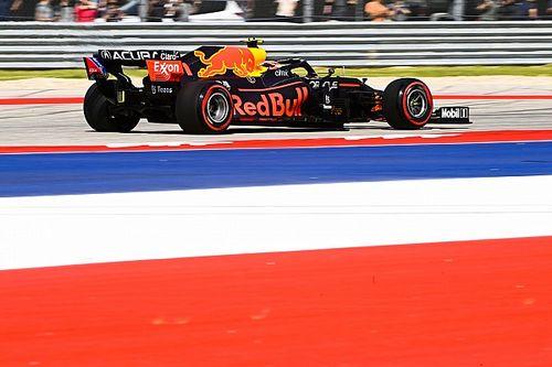 Pérez lidera la segunda práctica en Austin por delante de Mercedes