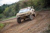 """Roma y Loeb, """"contentos"""" en el primer test del BRX T1 en el desierto"""