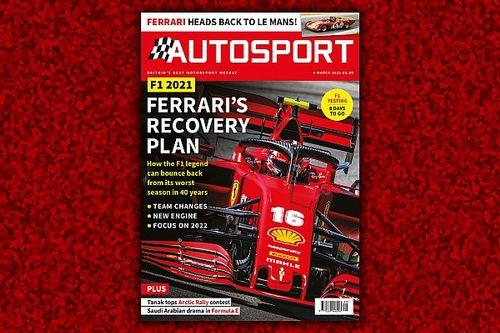 Autosport Magazine: Ferrari's F1 recovery plan