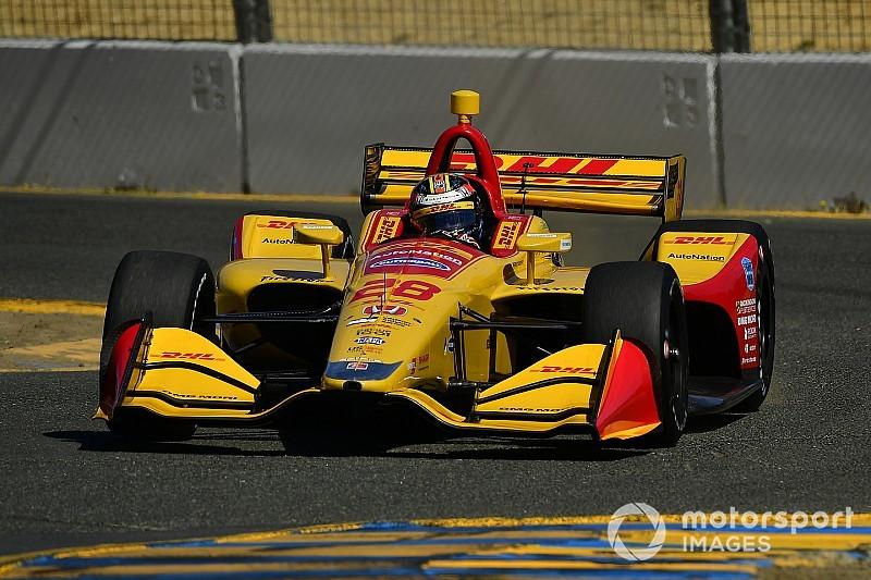 IndyCar Sonoma: Hunter-Reay auf Pole - Debütant O'Ward stark