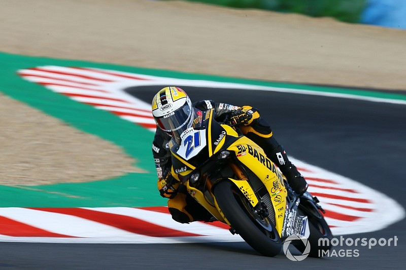 Krummenacher regala al team Bardahl Evan Bros in seconda fila a Magny-Cours