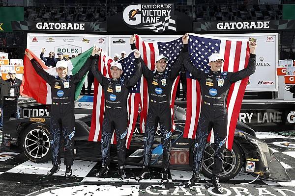 Судьбу победы в «Дайтоне» решило столкновение за четыре круга до финиша