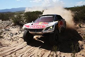 Dakar Breaking news Loeb relieved tobeclose toDakarlead after engine woes