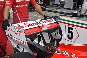 Formula 1 Top List Gallery: Key F1 tech shots at Italian GP