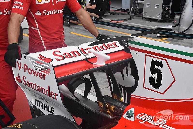 Galería: cómo buscan los equipos de F1 el mejor rendimiento en Monza
