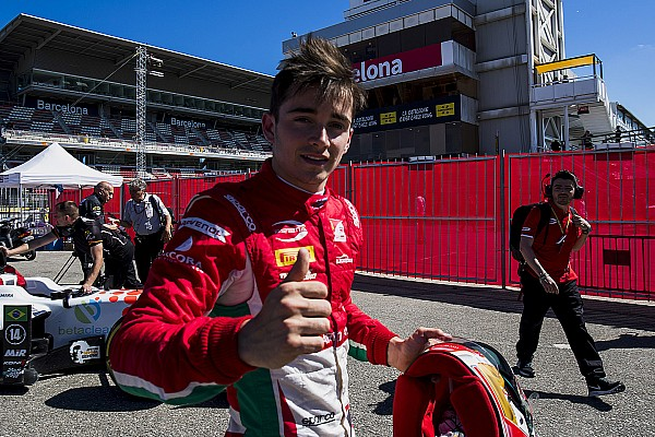 FIA F2 Leclerc column: Barcelona win adds to perfect start in F2