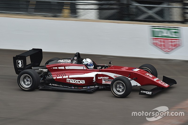 Indy GP USF2000: Askew dominates first race