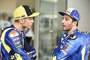 MotoGP Reaktion MotoGP-Sieg in Australien verpasst: Rossi sieht Schuld bei Iannone