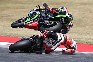 "World Superbike Breaking news Davies ""intent"" on Laguna Seca comeback after crash"