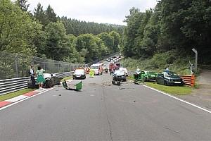 Geral Últimas notícias Acidente deixa dez feridos em Nürburgring-Nordschleife