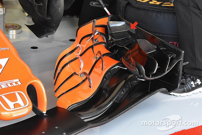 Tech analysis: How McLaren lifted its game at Spanish GP